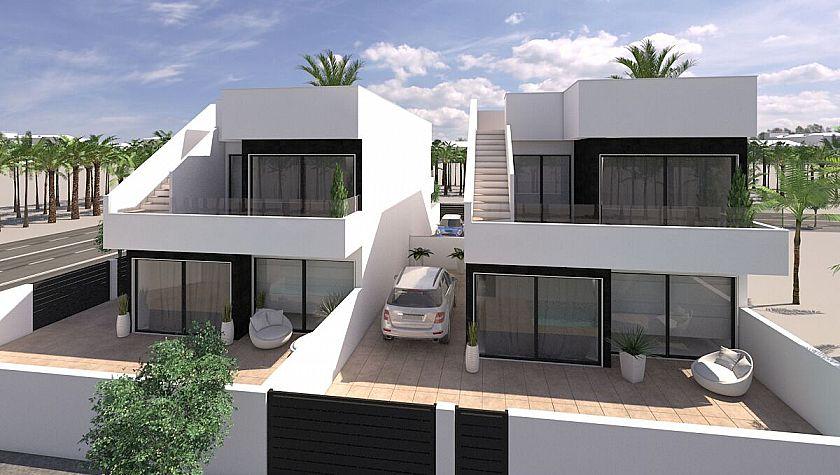 Deluxe villas in San Pedro del Pinatar