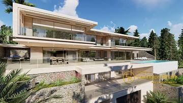 New build luxury villa in Lexington Realty