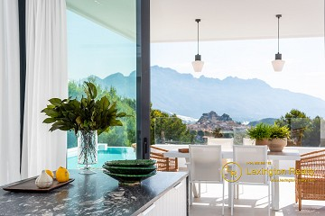 New build modern villa in Polop in Lexington Realty