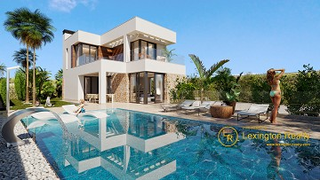 New build villa for sale in Finestrat