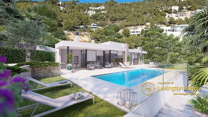 Elegant new build villa for sale