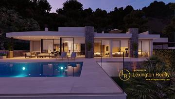 Elegant new build villa for sale in Lexington Realty