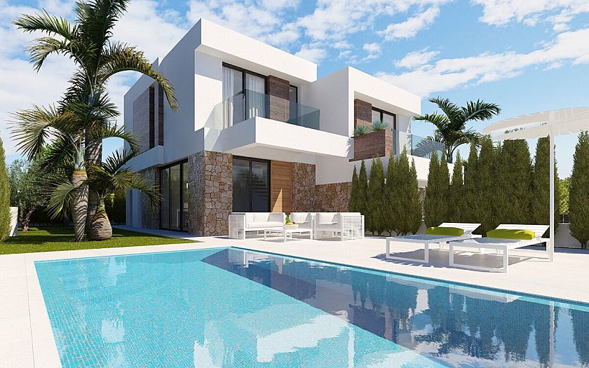 Villas with outstanding views for sale in Finestrat